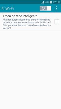 Como configurar uma rede Wi-Fi - Samsung Galaxy Note - Passo 4