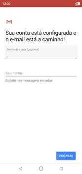 Como configurar seu celular para receber e enviar e-mails - Motorola One - Passo 12