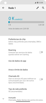 O celular não faz chamadas - Motorola Edge - Passo 9