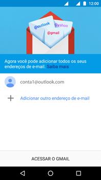 Como configurar seu celular para receber e enviar e-mails - Motorola Moto G (4ª Geração) - Passo 14