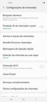 Como bloquear chamadas de um número específico - Samsung Galaxy A11 - Passo 7