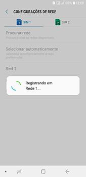 Como selecionar o tipo de rede adequada - Samsung Galaxy J6 - Passo 12