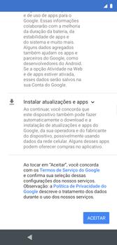 Como configurar pela primeira vez - Motorola Moto G7 Play - Passo 8