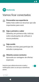 Como configurar pela primeira vez - Motorola Moto G7 Power - Passo 12