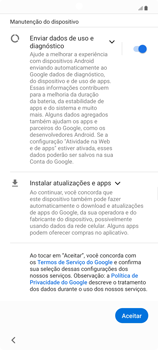 Como configurar pela primeira vez - Samsung Galaxy Note 20 5G - Passo 11