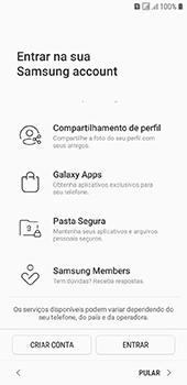 Como configurar pela primeira vez - Samsung Galaxy J6 - Passo 17