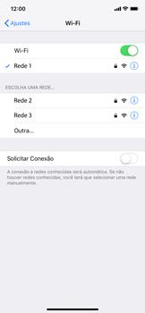 Como configurar uma rede Wi-Fi - Apple iPhone XR - Passo 6