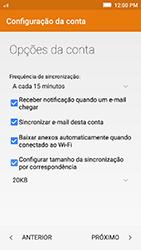 Como configurar seu celular para receber e enviar e-mails - Lenovo Vibe K5 - Passo 9