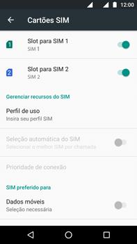 Como ativar e desativar uma rede de dados - Motorola Moto G (4ª Geração) - Passo 7