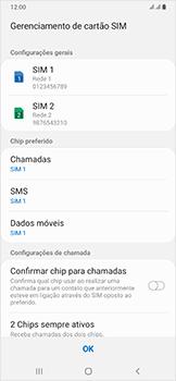 Como configurar pela primeira vez - Samsung Galaxy A50 - Passo 20