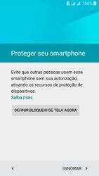 Como configurar pela primeira vez - Samsung Galaxy J3 Duos - Passo 12