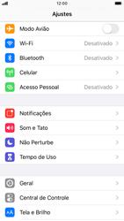 Como restaurar as configurações originais do seu aparelho - Apple iPhone 8 - Passo 3