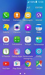 Como configurar seu celular para receber e enviar e-mails - Samsung Galaxy J1 - Passo 3