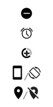 Explicação dos ícones - Motorola Moto G6 Plus - Passo 7