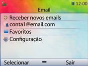 Como configurar seu celular para receber e enviar e-mails - Huawei U6020 - Passo 4