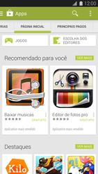 Como baixar aplicativos - Samsung Galaxy S5 - Passo 5