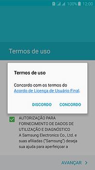 Como configurar pela primeira vez - Samsung Galaxy J7 - Passo 9