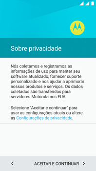 Como configurar pela primeira vez - Motorola Moto X Play - Passo 8