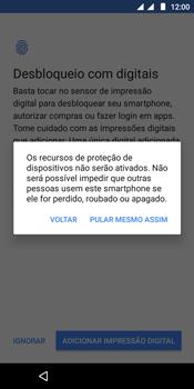 Como configurar pela primeira vez - Motorola Moto E5 - Passo 14