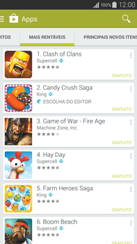 Como baixar aplicativos - Samsung Galaxy Note - Passo 9