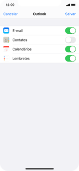 Como configurar seu celular para receber e enviar e-mails - Apple iPhone X - Passo 8