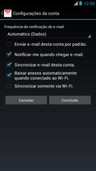 Como configurar seu celular para receber e enviar e-mails - Motorola RAZR MAXX - Passo 16