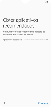 Como configurar pela primeira vez - Samsung Galaxy A10 - Passo 16