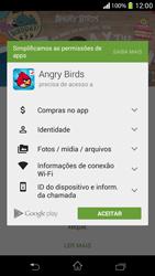 Como baixar aplicativos - Sony Xperia SP - Passo 18