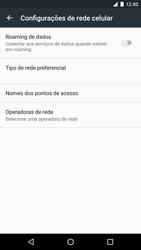 Como configurar a internet do seu aparelho (APN) - LG Google Nexus 5X - Passo 7