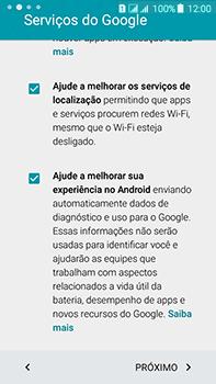 Como configurar pela primeira vez - Samsung Galaxy J7 - Passo 13