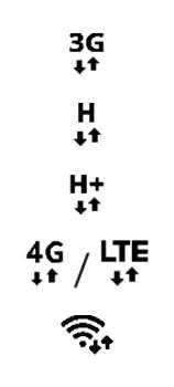 Explicação dos ícones - Samsung Galaxy Note 20 5G - Passo 6