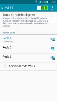 Como configurar uma rede Wi-Fi - Samsung Galaxy Note - Passo 7