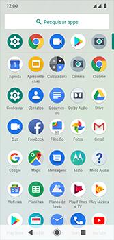 Como restaurar as configurações originais do seu aparelho - Motorola Moto G7 - Passo 3