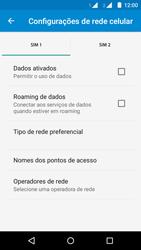 Como ativar e desativar uma rede de dados - Motorola Moto G (2ª Geração) - Passo 7