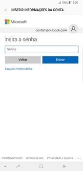 Como configurar seu celular para receber e enviar e-mails - Samsung Galaxy S9 Plus - Passo 6