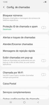 O celular não recebe chamadas - Samsung Galaxy A10 - Passo 16