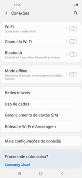 Como definir um aviso e limite de uso de dados - Samsung Galaxy A11 - Passo 4
