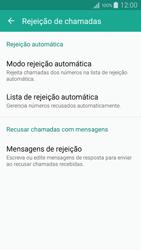 Como bloquear chamadas de um número específico - Samsung Galaxy A5 - Passo 8