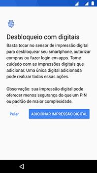 Como ativar seu aparelho - Motorola Moto Z2 Play - Passo 13