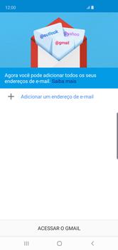 Como configurar seu celular para receber e enviar e-mails - Samsung Galaxy S10 - Passo 6