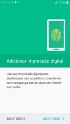 Como configurar pela primeira vez - Samsung Galaxy S6 - Passo 18