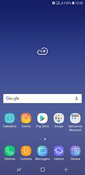 Como configurar seu celular para receber e enviar e-mails - Samsung Galaxy J6 - Passo 1