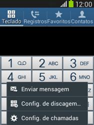 Como bloquear chamadas de um número específico - Samsung Galaxy Pocket - Passo 5