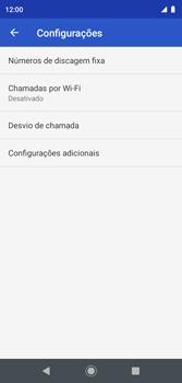 O celular não faz chamadas - Motorola Moto G7 Play - Passo 18