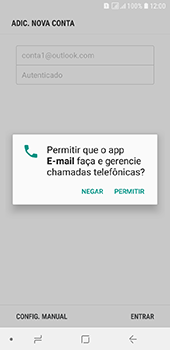 Como configurar seu celular para receber e enviar e-mails - Samsung Galaxy J6 - Passo 11