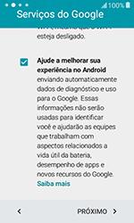 Como configurar pela primeira vez - Samsung Galaxy J1 - Passo 14