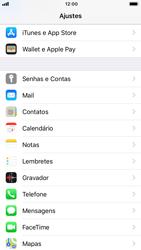 Como configurar seu celular para receber e enviar e-mails - Apple iPhone 8 - Passo 3