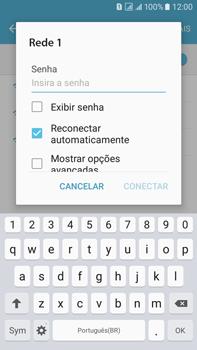 Como configurar uma rede Wi-Fi - Samsung Galaxy On 7 - Passo 6