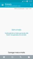 Como configurar seu celular para receber e enviar e-mails - Samsung Galaxy A5 - Passo 11