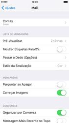 Como configurar seu celular para receber e enviar e-mails - Apple iPhone 7 - Passo 11
